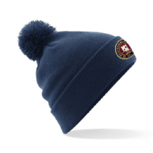 Ballynahinch FC Bobble Hat - Navy 2018